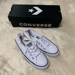 Converse Allstars in box, White, Women's 8